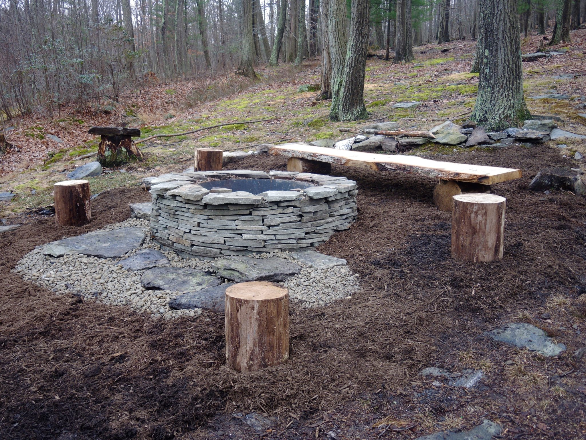 Fire Pit Installation Ponds By Bee